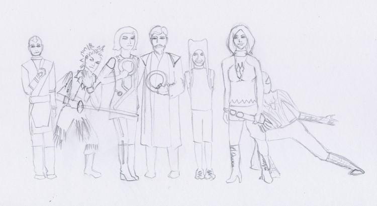 EC315 Characters
