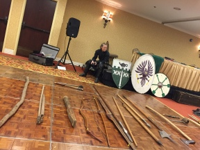 Ann Shilling at Medieval Weapons