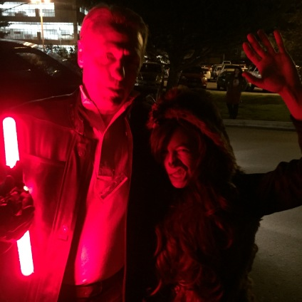 Wookie saves Han, the end. With John Barba as Han Solo.