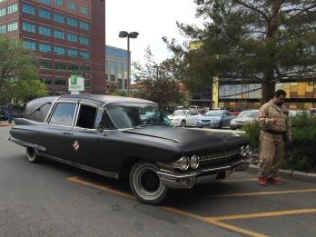 It's a darling hearse.
