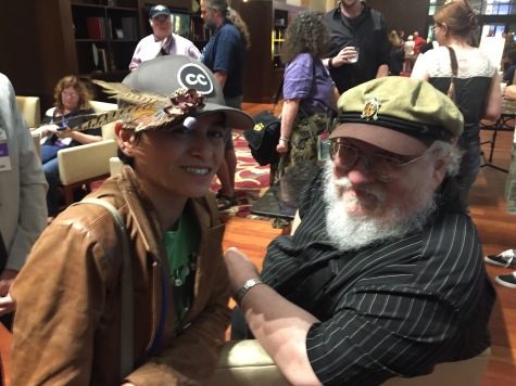 with George R. R. Martin