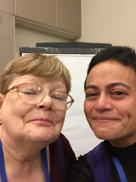 I broke down in front of Tamora Pierce.