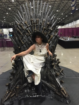 Upon the Iron Throne.
