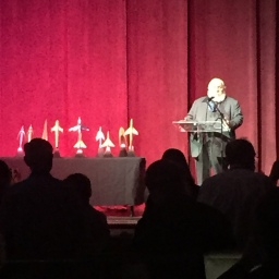 George R. R. Martin announcing the Alfies