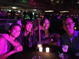 with the Black Gate Alfie Award, Vanessa McClellan, Fonda Lee, Alec Nevala-Lee