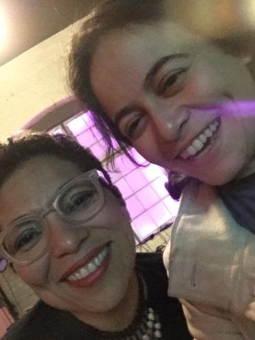 With previous Seattle Civic Poet, Claudia Castro Luna