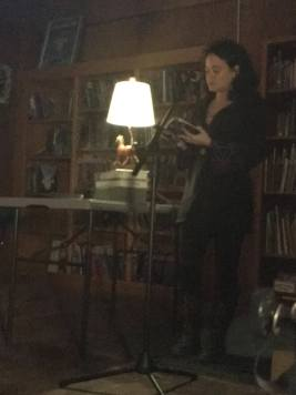 Eva L. Elasigue reading from Bones of Starlight: Fire On All Sides