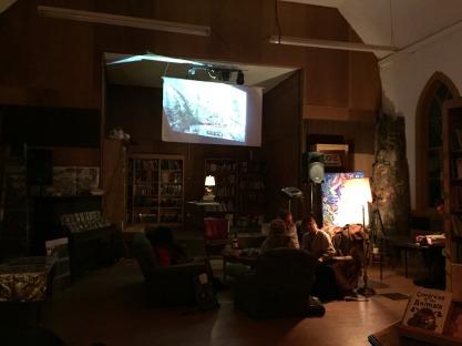 Alternative Library, with Daniel Harm (film), Adam One (art), Louisa Firethorne (art/graphic design)