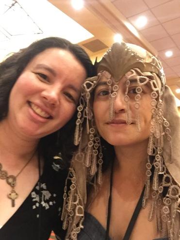 Caroline Yoachim, co-reader and Hugo nominee!