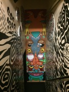 stairwell in Freehand Chicago Hostel