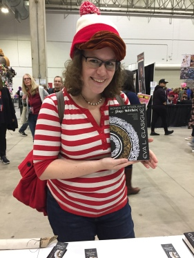 Find Waldo, has my book.