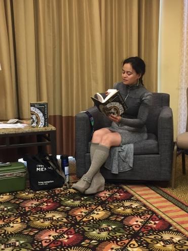 at my Sunday book reading
