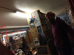 Last Word Books Olympia, where I gave a reading as part of the fabulous 17th birthday party lineup!