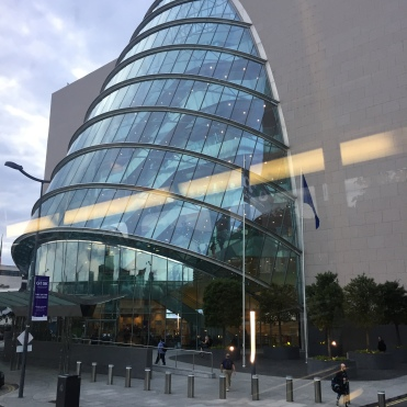 Our venue, the Convention Centre Dublin